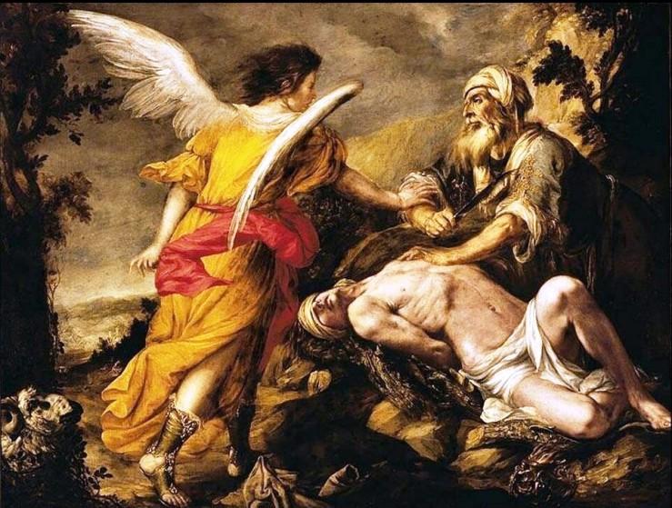 Juan-de-Valdes-Leal-Il-sacrificio-di-Isacco