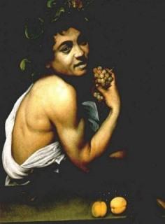 Caravaggio-Bacco