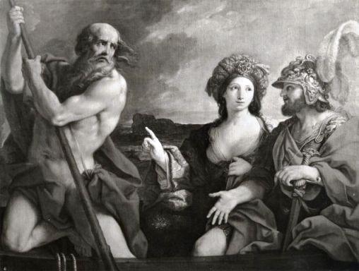Enea e Sibilla - Sirani Giovanni Andrea