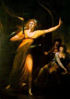 Johann Heinrich Füssli – Lady Macbeth sonnambula