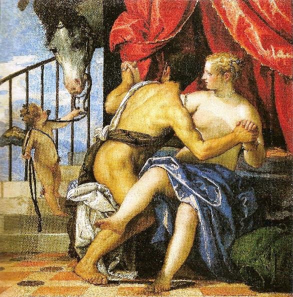 Paolo Veronese - Marte e Venere