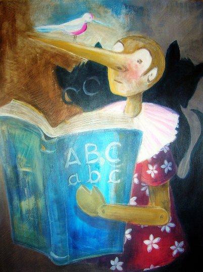 Pinocchio-abbecedario