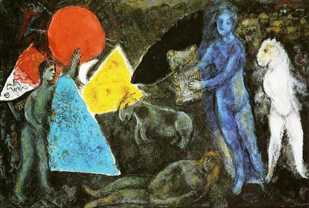Chagall-Orfeo