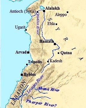 Ugarit-mappa