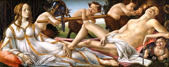 Botticelli - Venere e Marte