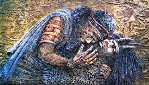 Gilgamesh-morte-Enkidu