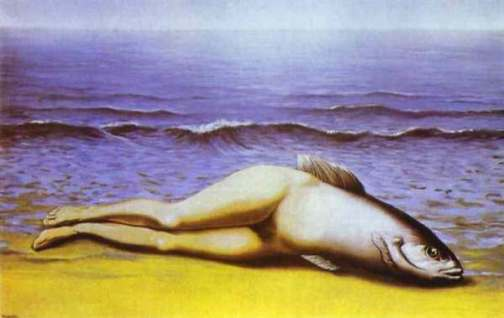 Magritte-pesce