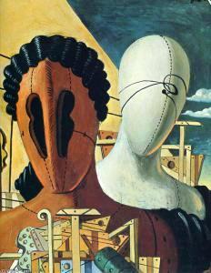 De-chirico-le-due-maschere