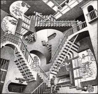 Escher-Casa-di-scale