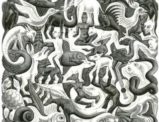 Escher-Divisione-Regolare-del-Piano