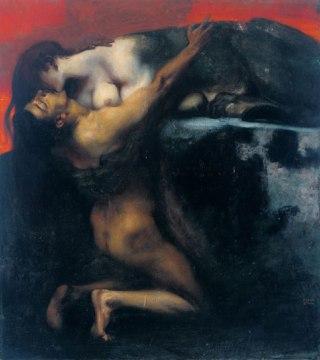 Franz-von-Stuck-bacio-Sfinge