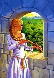 Rapunzel-finestra