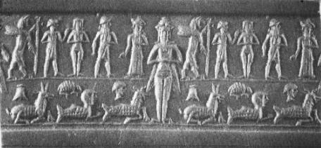 Inanna-Goddess