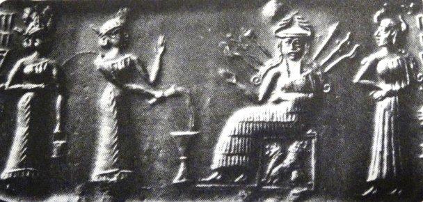 Inanna-trono