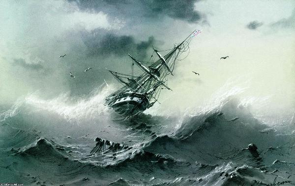 Ivan-Aivazovsky-naufragio