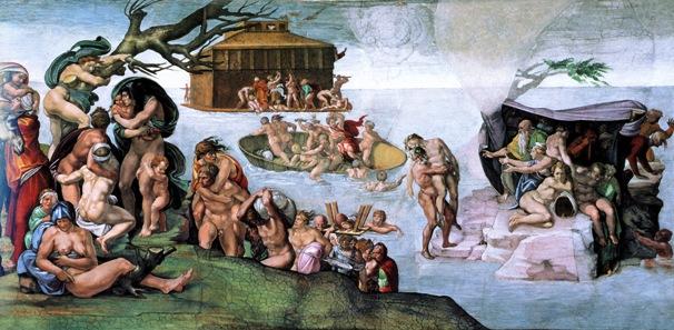 Michelangelo-Diluvio