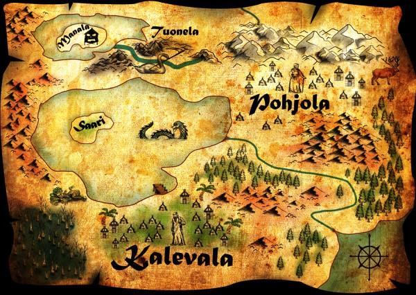 Pohjola-map