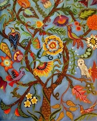 albero-uccelli