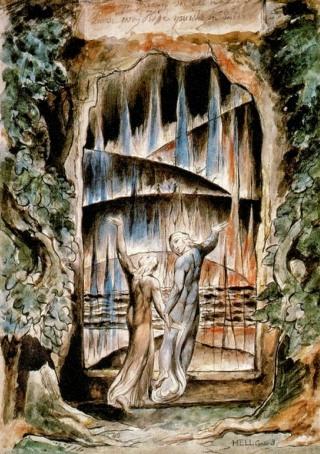 Blake-Virgilio-Dante-porta-inferno
