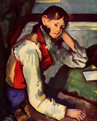 Cezanne-ragazzo-con-panciotto-rosso
