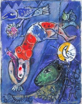 Chagall-circo-blu