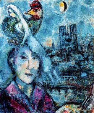Chagall-self-portrait-1968