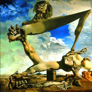 Dali-Soft-Construction-with-Boiled-Beans-Premonition-of-Civil-War