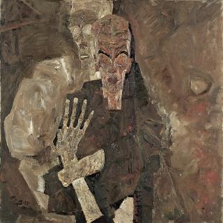 Egon Schiele-Death-Man