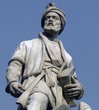 Firdusi-statua