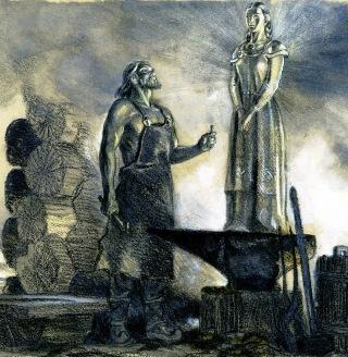 Ilmarinen-statua