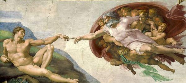 Michelangelo-Creazione-Adamo