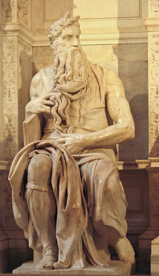 Michelangelo-Mosè