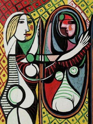Picasso-donna-specchio