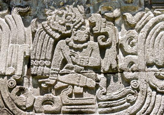 Quetzalcoatl-rilievo