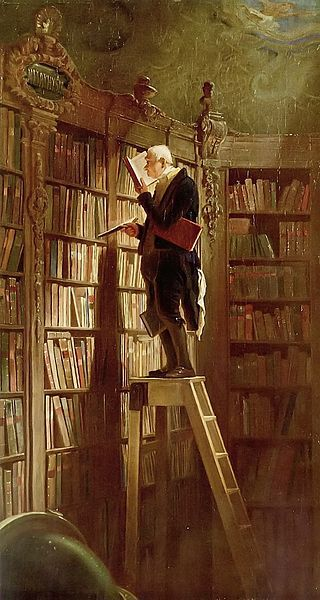 Spitzweg-topo-biblioteca