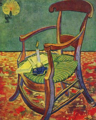 Van Gogh-sedia-Gauguin