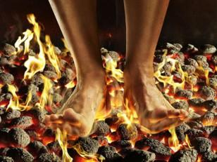camminare-fuoco