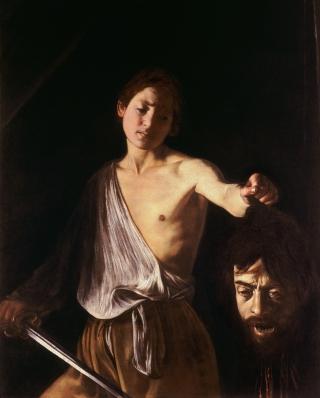 Caravaggio-David-testa-Golia