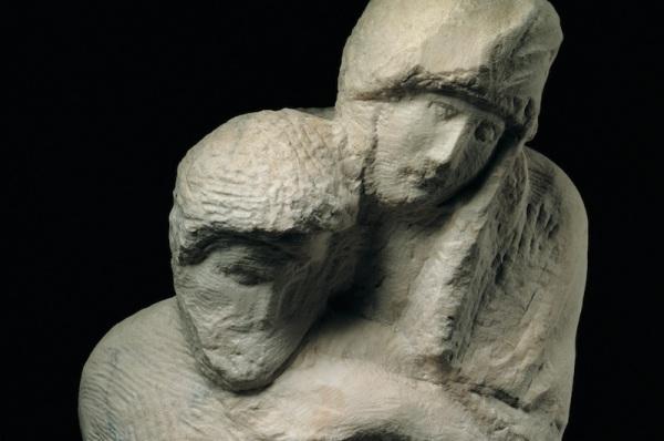 Michelangelo-Pietà-Rondanini-dettaglio