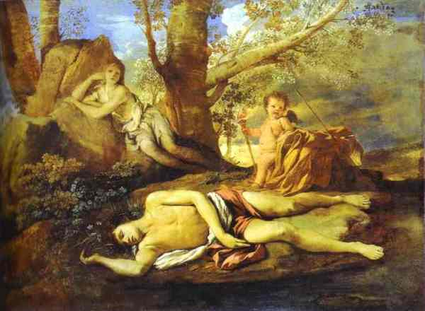 Poussin-Eco-Narciso