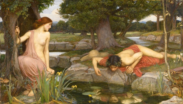 Waterhouse-Eco-Narciso