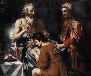 Caravaggio-isacco-e-giacobbe