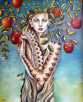 Eva-albero-serpente