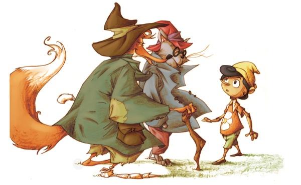 Gatto-Volpe-Pinocchio