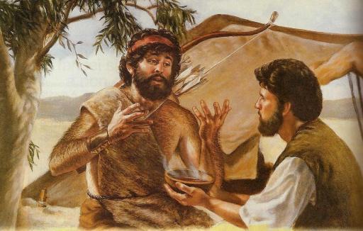 Giacobbe-Esau-lenticchie