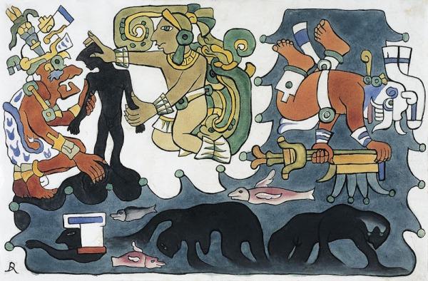 Maya-fantocci