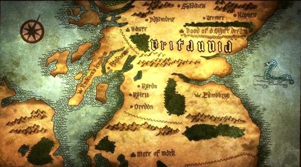 Britannia-mappa