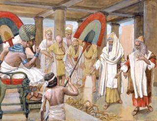 Faraone-maghi-serpente