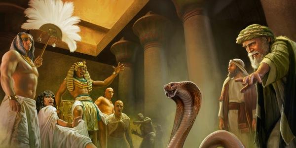 Mosè-verga-Faraone