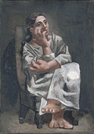 Picasso-Donna-seduta-analisi